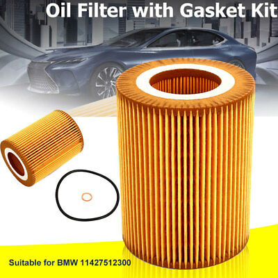 for BMW Oil Filter 11427512300 Car Oil Filter Fits Multiple Models Replacement