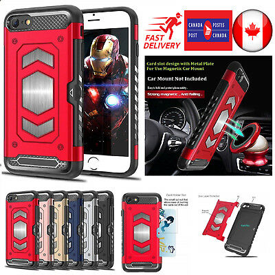 For iPhone X 8 7 Plus Shockproof Heavy Duty Armour Hybrid Hard Cover