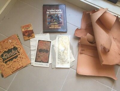 Leatherwork Books & Simmental Leather