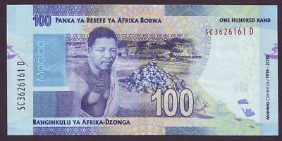 SOUTH AFRICA - Banknote new Nelson Mandela 2018 Centenary R 100 Blue (G304)