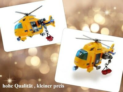 Dickie Toys 203302003 - Action Series Rescue Copter, Rettungshelikopter Inklusiv