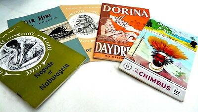 Five Vintage PNG Books  Used in PNG Schools 1960s