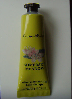 25g Crabtree & Evelyn Award-wining Hand Therapy cream SOMERSET MEADOW uplifting