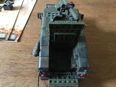 Call of Duty Figures Mega Bloks Armored Vehicle Charg Set Action Building Figure