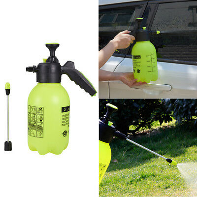 2L Garden Pressure Sprayer Bottle Spray Lance Nozzle Water Plants Weeds Potted