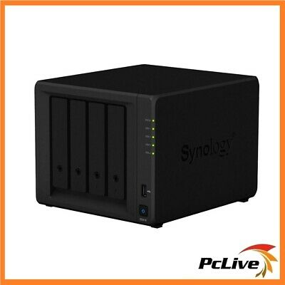 Synology DiskStation DS418 4 Bay NAS Server Cloud Network Storage File Backup