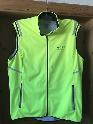 Gore Running Vest Mythos 2.0 Windstopper Soft Shell Light Westen Gr. XL - NEU