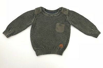 TARGET baby boys jumper 3-6 months winter knit top knitted pullover