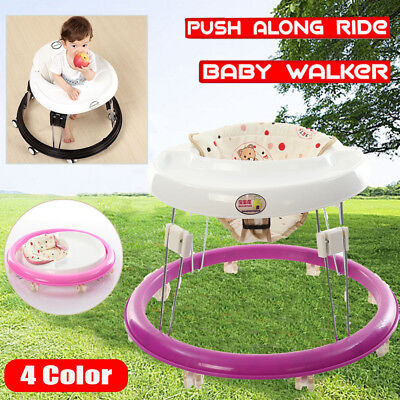 Baby Walker Car Activity Centre First Step Play Infant Toy Toddler Learn Walker