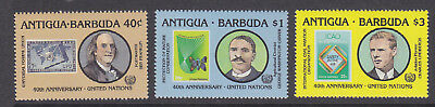 Antigua & Barbuda 1985 UN set MNH