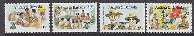 Antigua & Barbuda 1985 Girl Guides set MNH