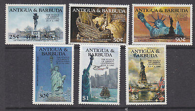 Antigua & Barbuda 1985 Statute of Liberty set MNH