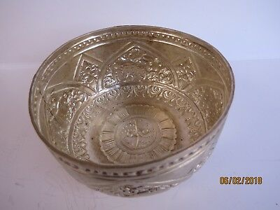 Traditional silver cup from Nepal