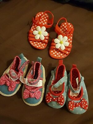 Baby Girl Summer Shoes Bundle 6-12