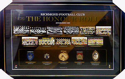 Richmond Tigers The Honour Roll Framed Limited Edition Licensed AFL Martin