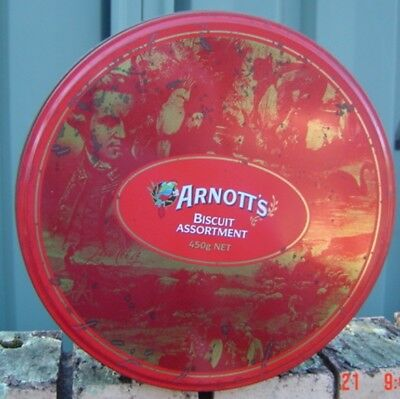 Arnotts Part of Australia's Living History for 130 years Tin Sold as Per Scans