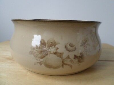 "DENBY ""MEMORIES"" STONEWARE unused  OPEN CASSEROLE/VEGETABLE DISH/FRUIT BOWL"