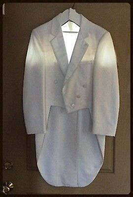 White Cut-Away tuxedo Jacket With Tails.💥💥💥Party time.