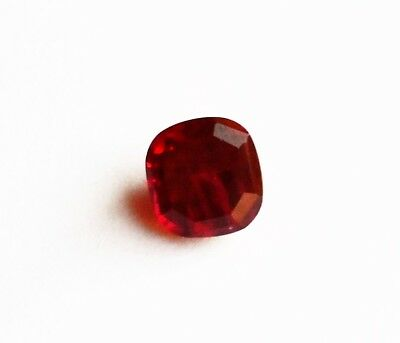 Rubis Naturel Rouge du Mozambique de 5,50 ct avec Certificat d'Authenticité GIR