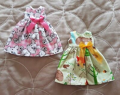 2 Blythe Dress Lot Pullip Azone Pure Neemo 1/6 Fashion Doll Outfit Momoko Moxie