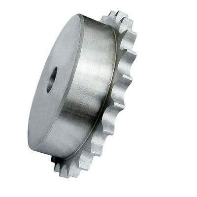 "4SR24 (08B1-24) 1/2"" Pitch Steel Pilot Bore Simplex Sprocket, With 24 Teeth"