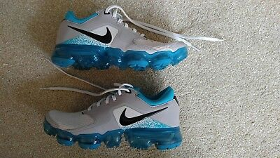 quality design 79438 129b7 Nike Air Vapormax (GS) Vast Grey   Black Kids   Womens Running Shoes 917963