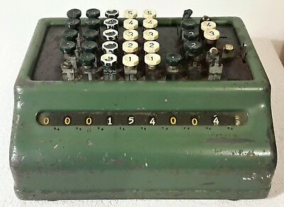 Vintage Bell Punch Company Limited Adding Machine