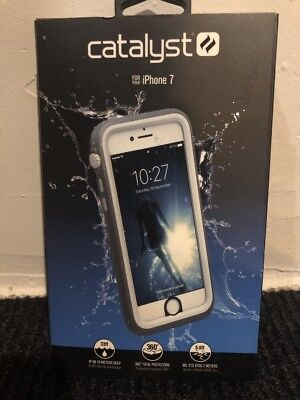 Catalyst - Water Proof Shock Resistant Case for - Apple iPhone 7 - White
