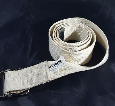 "Gait Belt 60"" Natural Color Posey safety walking Owen's minor medichoices strap"