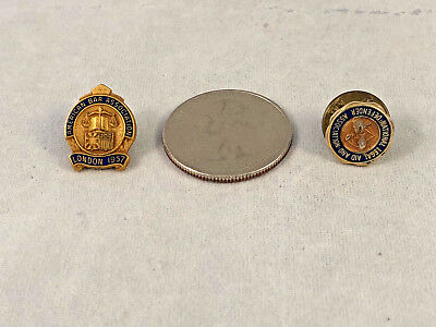 Vintage American Bar Association London Attorney Lawyer Legal Pin lot