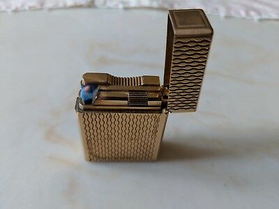 ST Dupont Ligne 1 Lighter, Used No Box, Lights but has very small flame See Pics