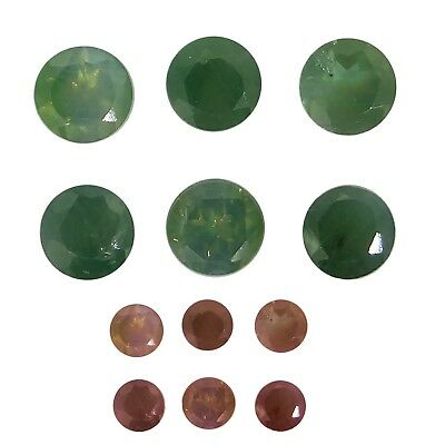alexandrite mixed lot 0.53ct Natural Loose Gemstones.