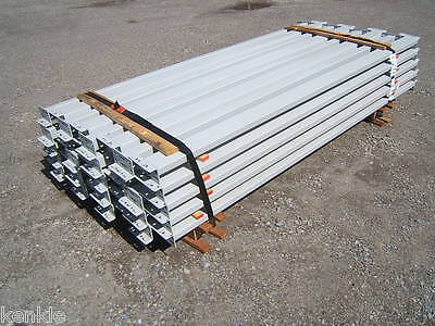"New 40 Ridgurak RUR Teardrop Beams 93"" x 4"" Pallet Racks Racking  410L"