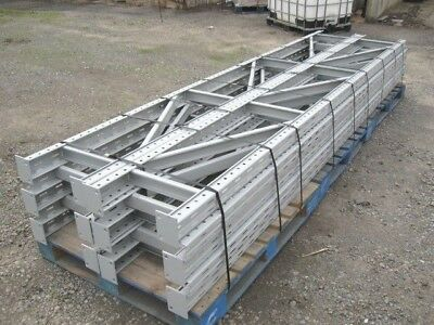 "9 sections 12' h x 18"" d Rigurak Tire Pallet Racks Racking - 10 ups / 36 beams"