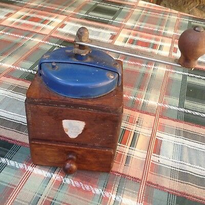 Peugeot Freres, Moulin a Cafe, Vintage French Coffee Grinder Peugeot Brothers