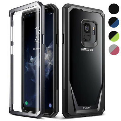 For Galaxy S9 / S9 Plus / Note 8 / Note 9 Case,Poetic Clear TPU Bumper Cover