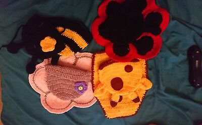 Newborn Baby Chrochet Knitted Costumes Photography Props
