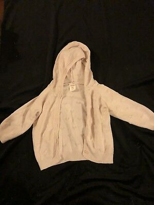 Gorgeous Pink Seed Heritage Baby Girl Hoodie Size 1