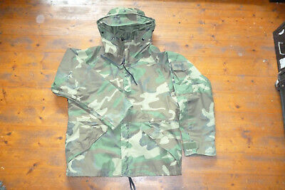 US Army ECWCS Gore-Tex Jacke Parka Coat Woodland Medium Cold Weather Armee USMC