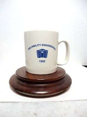 Vintage Reliability Engineering  Cray Research 1992 Coffee Cup