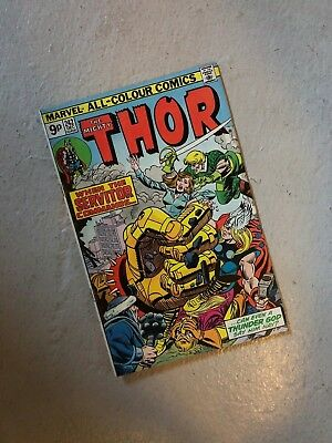 The Mighty Thor #242 Vf- Bronze Age Marvel Comic
