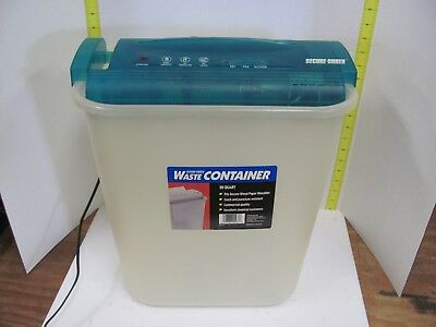 Secure-Shred Paper Shredder  28 Quart Dayton Hudson Made in the USA