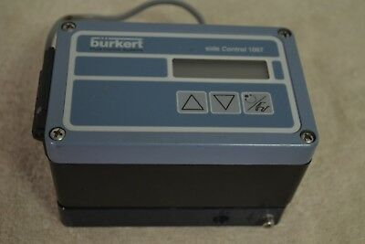 Burkert Side Control 1067 642292A Used