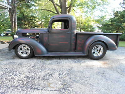1937 Chevrolet Other Pickups  1937 Chevrolet Custom Street Rod Short Bed Pick Up Truck-Big Tire Nice Patina