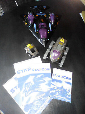 Starcom Shadow Force Bat Parasite Invader Raider Rat Set Instructions