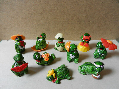 Kinder Les Tortues, Serie Complete 1991