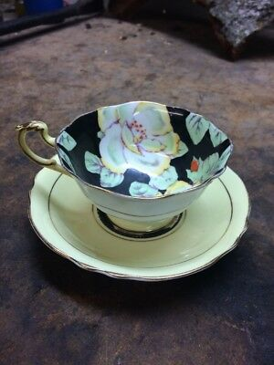 PARAGON by appt h.m the QUEEN & h.m QUEEN MARY CUP & SAUCER BONE CHINA ENGLAND