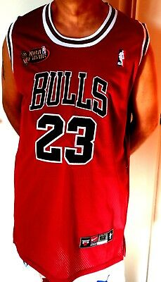 Canotta Versione Da Gara Nba Finals Michael Jordan Chicago Bulls Tg 52 Xl Basket