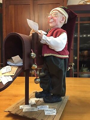 Jacqueline Kent Mail Master #342242 Christmas Collection Figurine 16-in