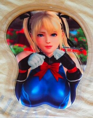 Dead or Alive 5 LR Marie Rose 3D Mouse Pad, official Koei Tecmo, New, US seller
